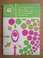 Anticariat: G. C. Teodoru - Efectele secundare ale contraceptiei moderne