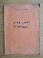 Anticariat: Gh. Carapancea - Stavilarul (1926)