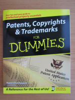 Henri Charmasson - Patents, copyrights and trademarks for dummies