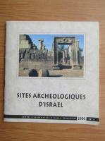 Anticariat: Hillel Geva - Sites archeologiques d'Israel