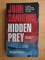 Anticariat: John Sandford - Hidden prey