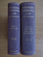 L. Oppenheim - International Law (2 volume)