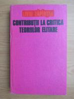 Anticariat: Liviu Zapirtan - Contributii la critica teoriilor elitare