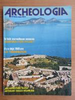 Revista Archeologia, nr. 104, martie 1977