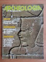 Revista Archeologia, nr. 110, septembrie 1977