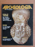 Anticariat: Revista Archeologia, nr. 111, octombrie 1977