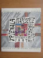 Anticariat: Trienala de tapiserie Bucuresti Romania, decembrie 1997