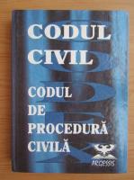 Codul Civil. Codul de procedura civilam cu modificari pana la 15.10.1998