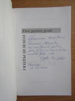 Anticariat: Constantin Dumitrescu Cunctator - Zbor printre gratii. Ecouri de pestera (cu autograful autorului)