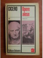 Anticariat: Cicero - Opere alese (volumul 3)