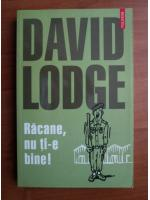 Anticariat: David Lodge - Racane, nu ti-e bine!