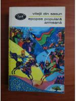 Anticariat: Epopee populara armeana - Viteji din Sasun
