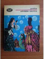 Anticariat: Goethe - Afinitatile elective
