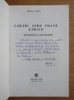 Mircea Cardu - Carari spre toate zarile (cu autograful autorului)