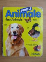 Anticariat: Primele animale (editie bilingva)