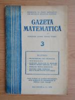 Anticariat: Revista Gazeta Matematica, anul LXXXIII, nr. 3, 1978