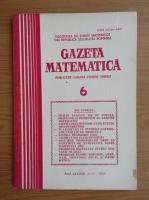 Anticariat: Revista Gazeta Matematica, anul LXXXVII, nr. 6, 1982
