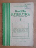 Revista Gazeta Matematica, anul LXXXVIII, nr. 7, 1983