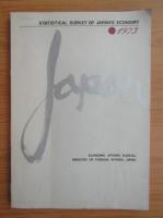Anticariat: Statistical survey of Japan's economy 1973