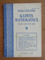 Anticariat: Gazeta Matematica, anul LXXXVI, nr. 9, 1981
