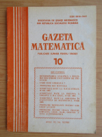 Anticariat: Gazeta Matematica, anul XC, nr. 10, 1985