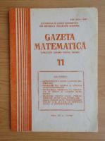 Gazeta Matematica, anul XC, nr. 11, 1985
