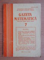 Anticariat: Gazeta Matematica, anul XC, nr. 7, 1985