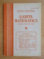 Anticariat: Gazeta Matematica, anul XC, nr. 9, 1985