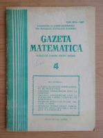 Anticariat: Gazeta Matematica, anul XCI, nr. 4, 1986