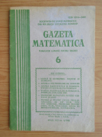 Anticariat: Gazeta Matematica, anul XCI, nr. 6, 1986