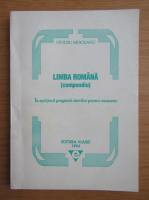 Anticariat: Ovidiu Moceanu - Limba romana. Compendiu