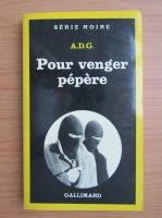 Anticariat: Pour venger pepere