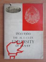 Anticariat: The Al. I. Cuza University of Jassy