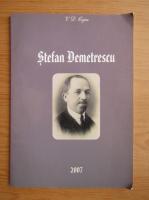 Anticariat: V. D. Cojea - Stefan Demetrescu