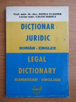 Vladimir Hanga - Dictionar juridic roman-englez