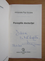 Antoaneta Pop Giuvara - Povestile doctoritei (cu autograful autoarei)