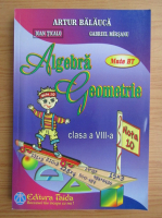 Anticariat: Artur Balauca - Algebra geometrie. Clasa a VIII-a (2013)