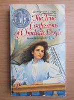 Anticariat: Avi - The true confessions of Charlotte Doyle