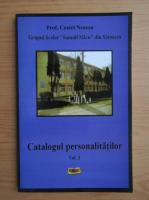 Anticariat: Costel Neacsu - Catalogul personalitatilor (volumul 1)
