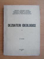 Anticariat: Dezbateri ideologice