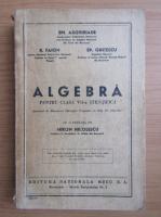 E. Arghiriade - Algebra pentru clasa a VII-a stiintifica (1947)