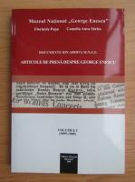 Florinela Popa - Articole de presa despre George Enescu (volumul 1)