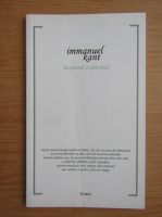 Immanuel Kant - Inceputul si sfarsitul
