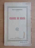 Ion Agarbiceanu - Ceasuri de seara (1925)