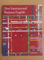 Anticariat: Leo Jones - New international business english