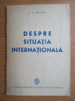 A. A. Jdanov - Despre situatia internationala (1948)