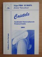 Anticariat: Caietele Academiei Interculturale Transsylvania 2004