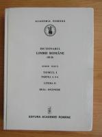 Anticariat: Dictionarul limbii romane (volumul 1, partea a 4-a)
