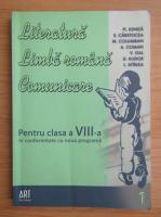 Anticariat: Fl. Ionita - Literatura, limba romana, comunicare pentru clasa a VIII-a