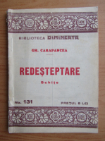 Gh. Carapancea - Redesteptare (aprox. 1932)